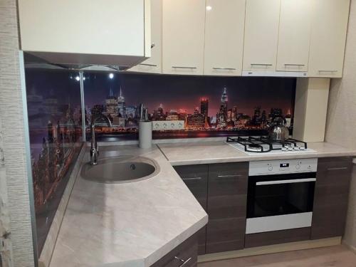 Кухня глянец-Кухня МДФ пластик «Модель 5»-фото 3