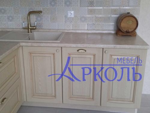 Деревянная кухня Модель 40-фото 2