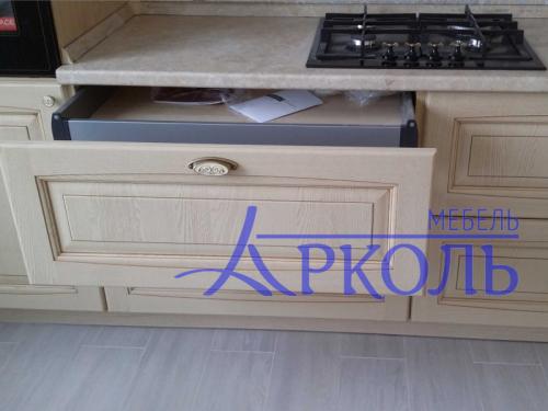 Деревянная кухня Модель 40-фото 3