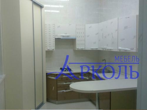 Кухня глянец-Кухня МДФ пластик «Модель 15»-фото 1