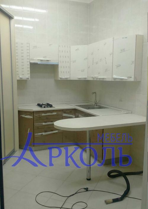 Кухня глянец-Кухня МДФ пластик «Модель 15»-фото 2