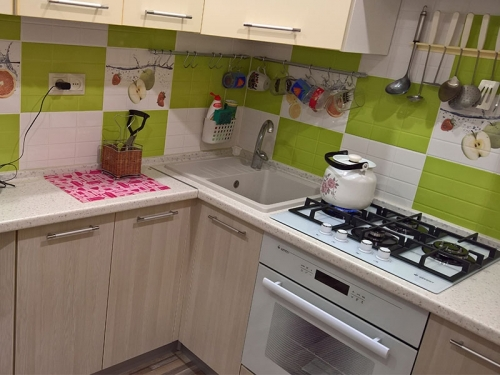 Кухня МДФ «Модель 33»-фото 1