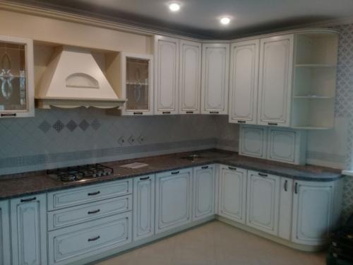 Кухня матовая-Кухня МДФ ПВХ «Модель 20»-фото 1