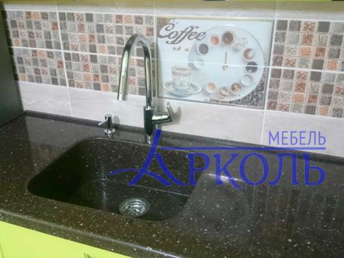 Кухня глянец-Кухня МДФ пластик «Модель 4»-фото 3