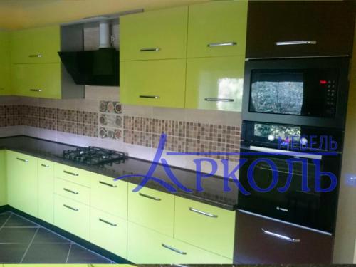 Кухня глянец-Кухня МДФ пластик «Модель 4»-фото 4