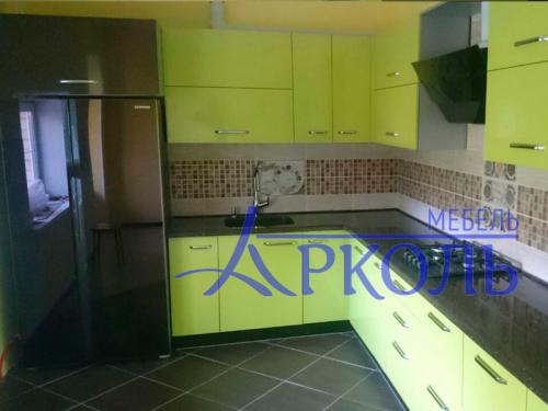 Кухня глянец-Кухня МДФ пластик «Модель 4»-фото 5