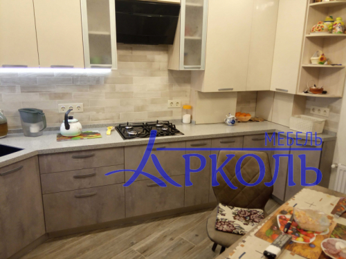 Кухня МДФ-Кухня МДФ Пластик «Модель 28»-фото 5