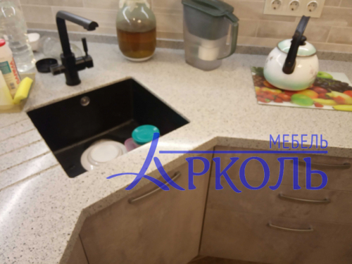 Кухня МДФ-Кухня МДФ Пластик «Модель 28»-фото 7