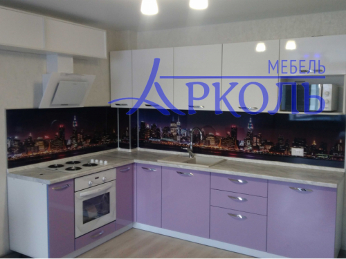 Кухня глянец-Кухня МДФ пластик «Модель 9»-фото 2