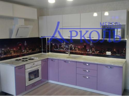 Кухня глянец-Кухня МДФ пластик «Модель 9»-фото 1