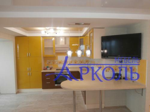 Кухня глянец-Кухня МДФ эмаль «Модель 1»-фото 3