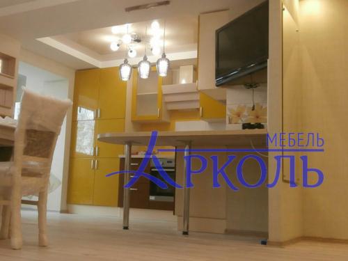 Кухня глянец-Кухня МДФ эмаль «Модель 1»-фото 6