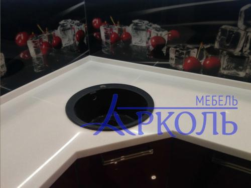 Кухня глянец-Кухня МДФ эмаль «Модель 7»-фото 2