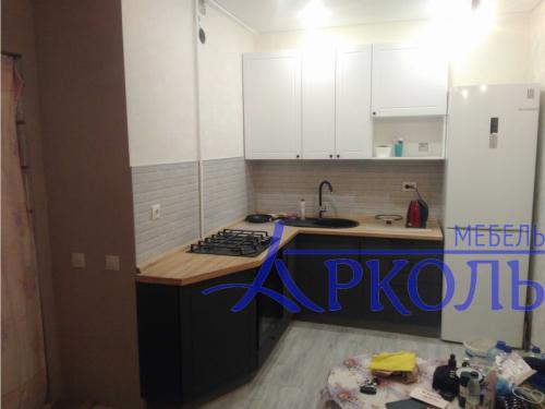 Кухня матовая-Кухня МДФ ПВХ «Модель 22»-фото 1