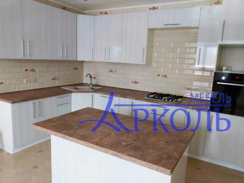 Кухня глянец-Кухня МДФ пластик «Модель 13»-фото 2