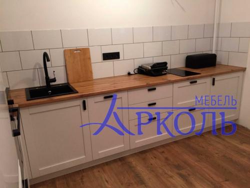 Кухня матовая-Кухня МДФ ПВХ «Модель 18»-фото 1