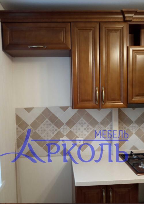 Деревянная кухня Модель 41 фото 2