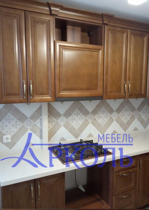 Деревянная кухня Модель 41 фото 3