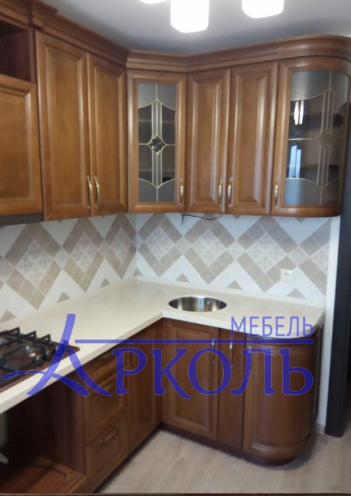 Деревянная кухня Модель 41 фото 4