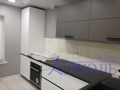 Кухня матовая-Кухня МДФ Акрил «Модель 19»-фото 2