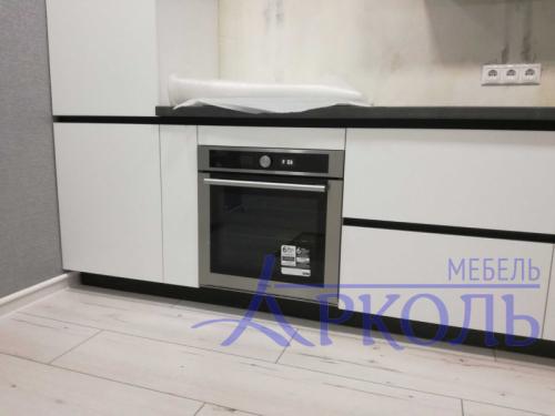 Кухня матовая-Кухня МДФ Акрил «Модель 19»-фото 3