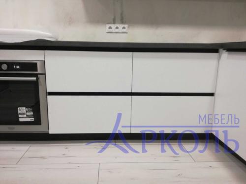 Кухня матовая-Кухня МДФ Акрил «Модель 19»-фото 4