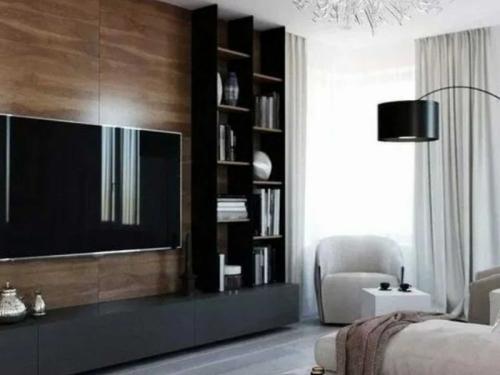 Шкаф в гостиную современный