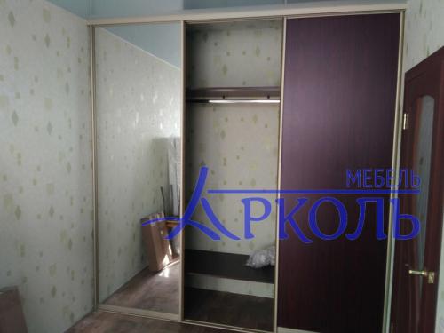 шкаф купе встроенный в нишу фото 2