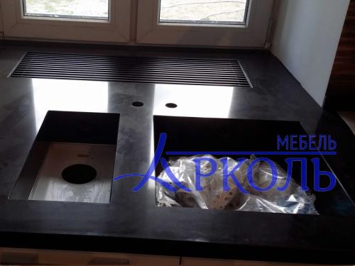 Кухня глянец-Кухня МДФ ПВХ «Модель 14»-фото 3