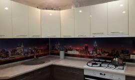 Кухня глянец-Кухня МДФ пластик «Модель 5»-фото 1