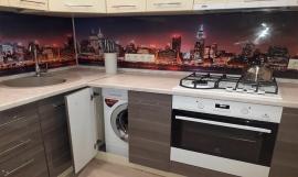 Кухня глянец-Кухня МДФ пластик «Модель 5»-фото 4