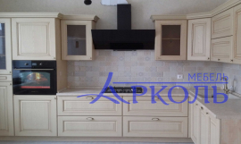 Деревянная кухня модель 40