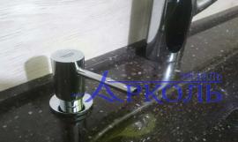 Кухня глянец-Кухня МДФ пластик «Модель 4»-фото 6