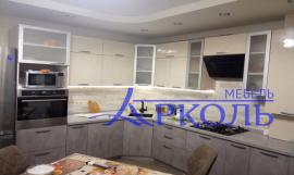 Кухня МДФ-Кухня МДФ Пластик «Модель 28»-фото 2