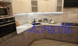 Кухня МДФ-Кухня МДФ Пластик «Модель 28»-фото 4