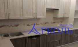 Кухня матовая-Кухня МДФ ПВХ «Модель 21»-фото 3