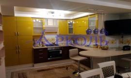 Кухня глянец-Кухня МДФ эмаль «Модель 1»-фото 2
