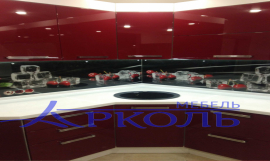 Кухня глянец-Кухня МДФ эмаль «Модель 7»-фото 3