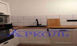 Кухня матовая-Кухня МДФ ПВХ «Модель 18»-фото 2