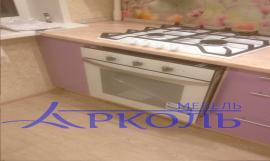 Кухня глянец-Кухня МДФ пластик «Модель 17»-фото 2