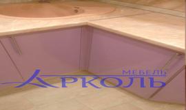 Кухня глянец-Кухня МДФ пластик «Модель 17»-фото 4