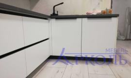 Кухня матовая-Кухня МДФ Акрил «Модель 19»-фото 5
