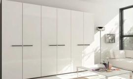 Шкаф белый глянец