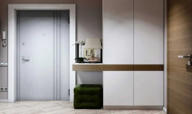 Шкаф в прихожую в современном стиле