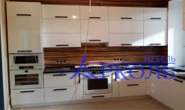 Кухня глянец-Кухня МДФ ПВХ «Модель 14»-фото 1