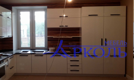 Кухня глянец-Кухня МДФ ПВХ «Модель 14»-фото 2