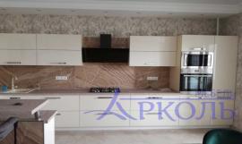 Кухня глянец-Кухня МДФ акрил «Модель 8»-фото 4